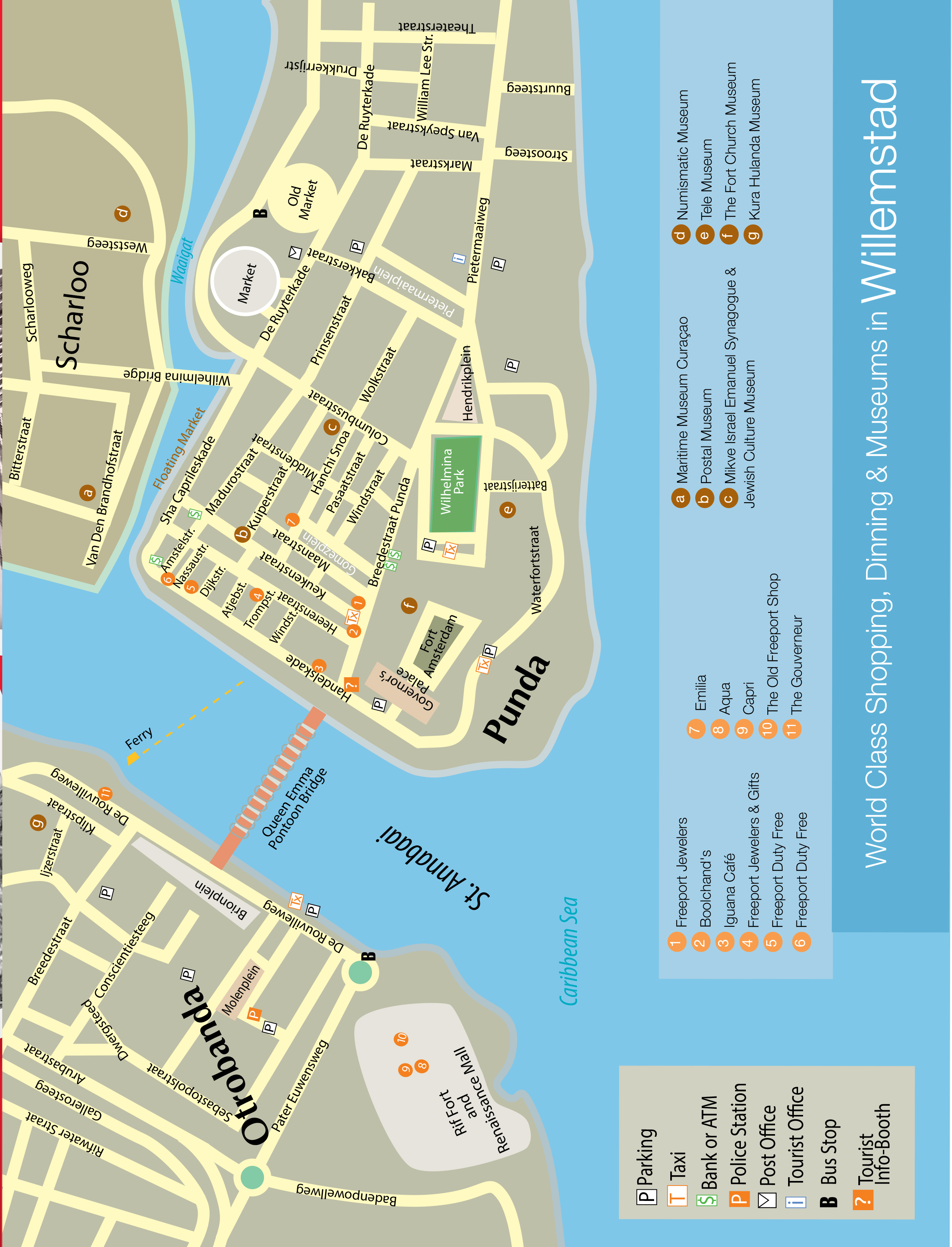 CURACAO CITY MAP- WEB