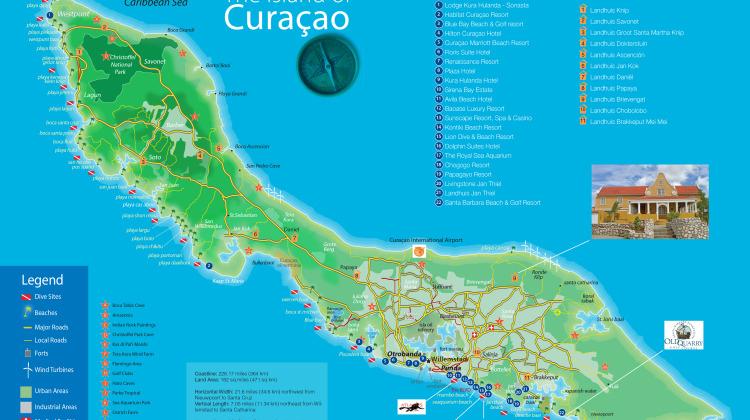 Curacao_Island_MAP