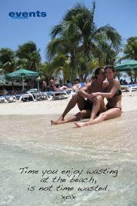beach at mambo curacao